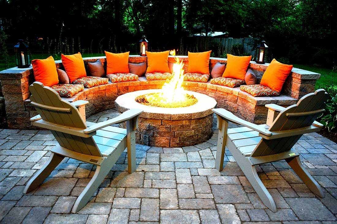 Outdoor Fire Pits-Wichita Falls TX Professional Landscapers & Outdoor Living Designs-We offer Landscape Design, Outdoor Patios & Pergolas, Outdoor Living Spaces, Stonescapes, Residential & Commercial Landscaping, Irrigation Installation & Repairs, Drainage Systems, Landscape Lighting, Outdoor Living Spaces, Tree Service, Lawn Service, and more.